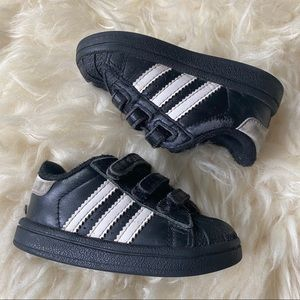 Adidas Superstar Toddler Shoes Velcro 4T